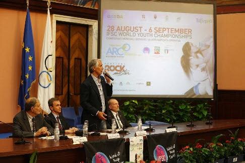 Presentati a Roma i Mondiali Giovanili di Arrampicata Sportiva