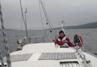 Photo: Hankasalmen Kynsiveden purjehtija Arja.