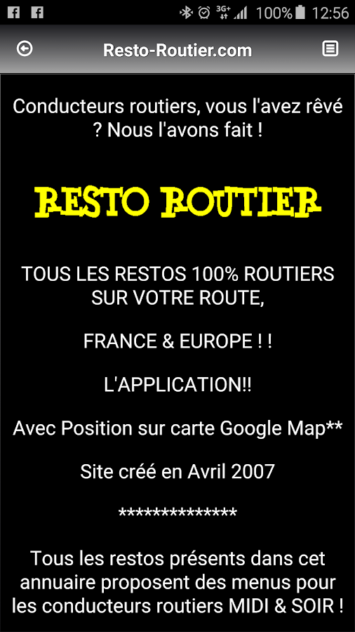 Resto-Routier- screenshot