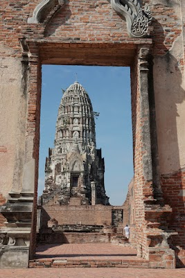 Wat Ratburana in Ayutthaya