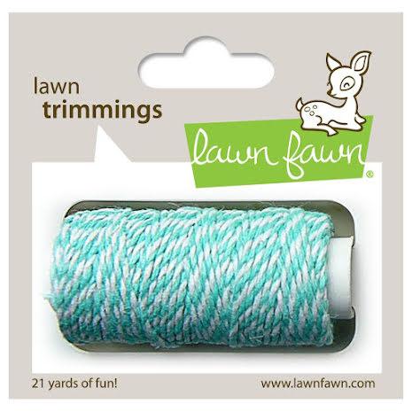 Lawn Fawn Trimmings Hemp Cord 21yd - Aquamarine