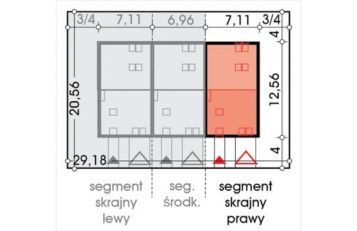 Alfa segment skrajny prawy - Sytuacja