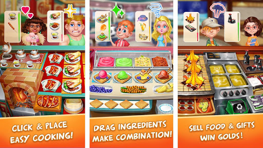 Star Cooking Chef - Foodie Madnessud83cudf73 2.9.5009 screenshots 13