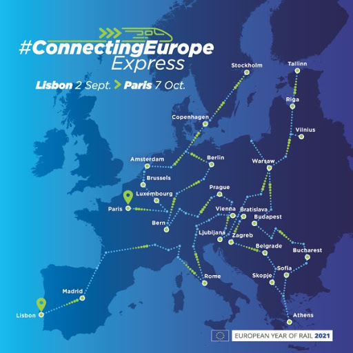 Connecting Europe Express timetable revealed
