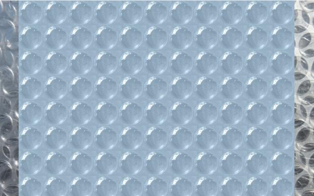 Bubble wrap simulite