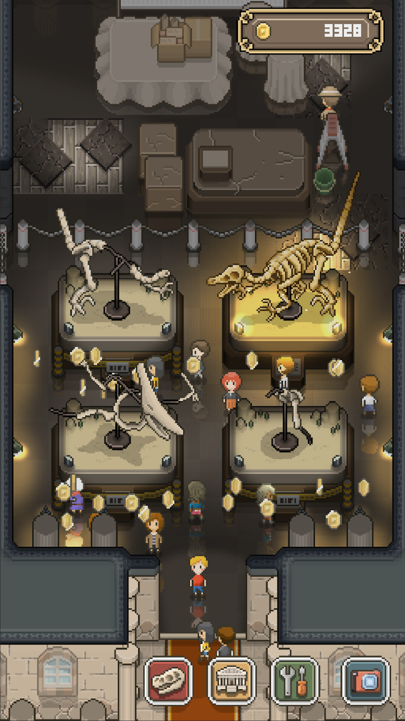TAP! DIG! MY MUSEUM! Screenshot 1