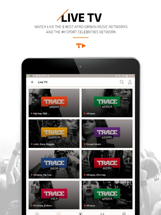 Trace Play - Urban Music- screenshot