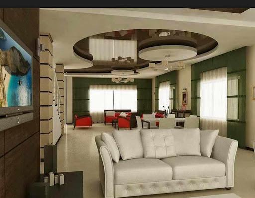 石膏天井デザイン