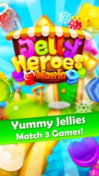 Jelly Heroes Mania v1.2.8 [Mod]