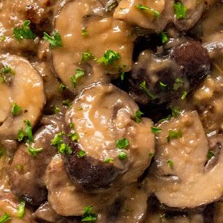 Mushroom Gravy Meatloaf.