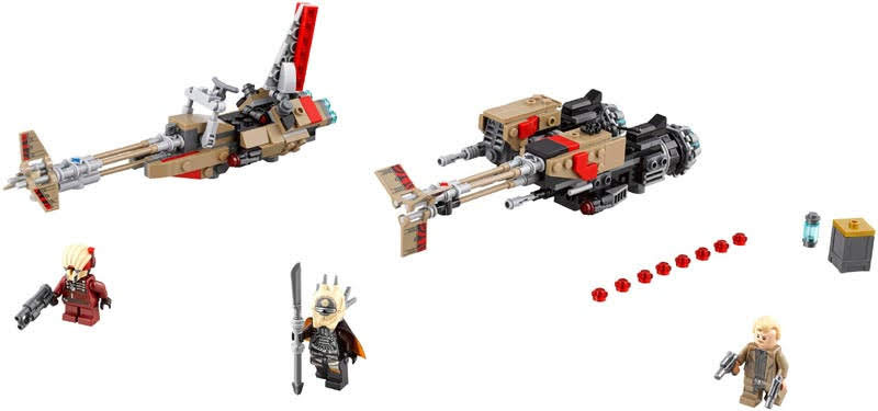 Contenido de Lego® 75215 Cloud-Rider Swoop Bikes™