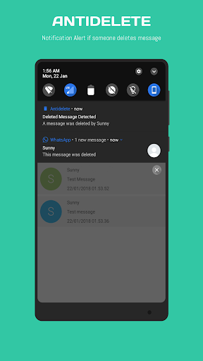 Antidelete : View Deleted WhatsApp Messages Apk 2