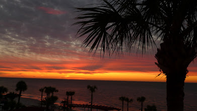 Photo: Sunset on St. Simons Island.