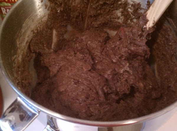 Add wet items and combine well.  Stir in 2 cups chocolate chips. ...