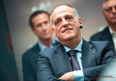 Javier Tebas s'en prend encore au PSG et à la LFP
