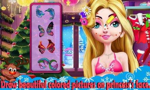 無料休闲Appのクリスマスプリンセスフェイス・ペインティング|記事Game