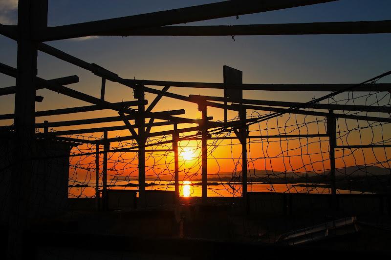 """Un tramonto """"fra le righe""""... di Petruzzo"""