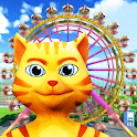 Cat Theme & Amusement Park Fun icon