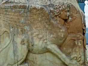 Photo: Roman sarcophagus 4th century AD ..........Romeinse sarcofagus 4de eeuw