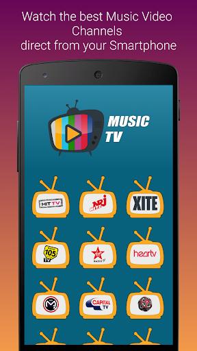 Music TV - Free Music Video Player Live Streaming 1.0.9 screenshots 1