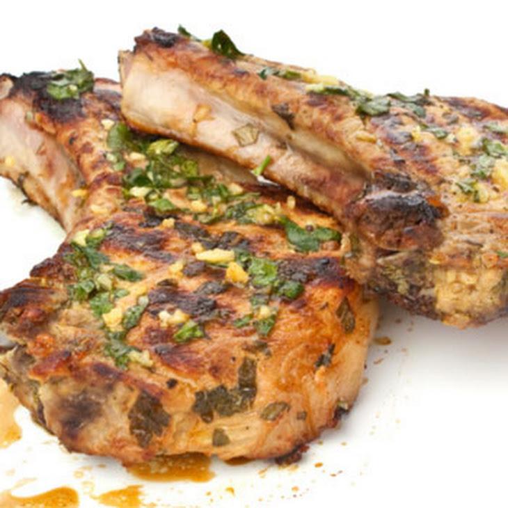 Pork Chops & Stuffing