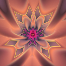 Flower design by Cassy 67 - Illustration Abstract & Patterns ( abstract, abstract art, wallpaper, digital art, fractal art, harmony, flowers, fractal, digital, fractals, floral, flower )