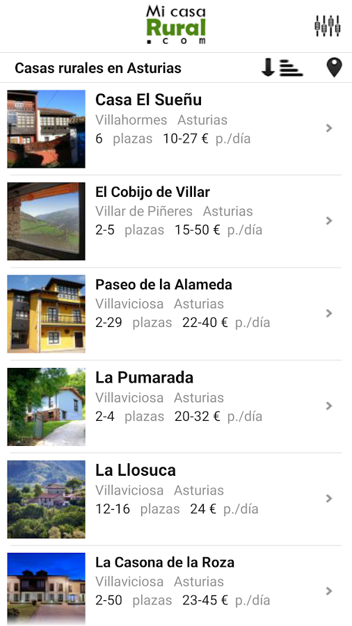 Mi Casa Rural- screenshot