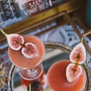 Fig + Honey Cocktail.