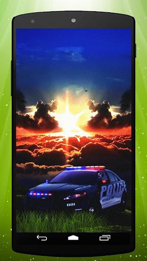 Cop Car Live Wallpaper