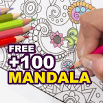 Mandala Coloring Book for Free icon