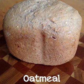 Bread Machine Oatmeal Breakfast Bread.