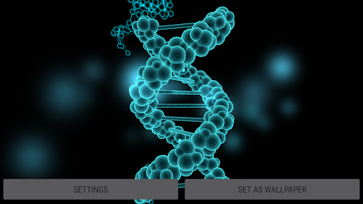 Particle Cells & Molecules 3D Live Wallpaper  screenshots 12