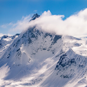 Alaska V by Kelly Maize - Landscapes Mountains & Hills ( landscapes, mountains, outdoors, snow, alaska, clouds,  )