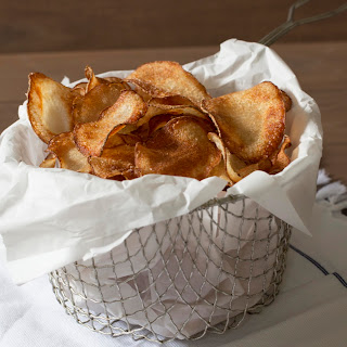 Best Ever Homemade Potato Chips.