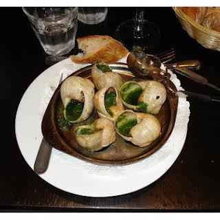 Snails Bourguignonne.