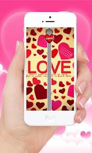 Download Love Lock Screen Zipper For PC Windows and Mac apk screenshot 1