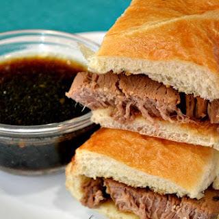 Slow Cooker Beef Dip Sandwich