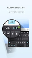 Screenshot of GO Keyboard Lite + Emoji