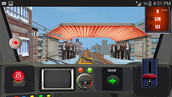 Bullet Train Driving Simulator - náhled