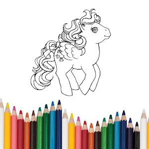Pony Colouring