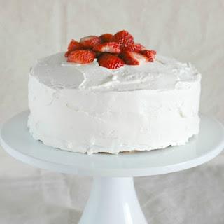 Strawberry Cheesecake Cake.