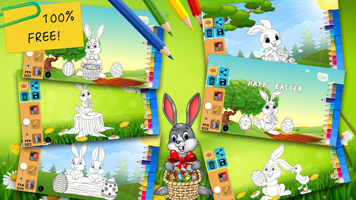 Easter bunny egg coloring book 1.06 screenshots 5
