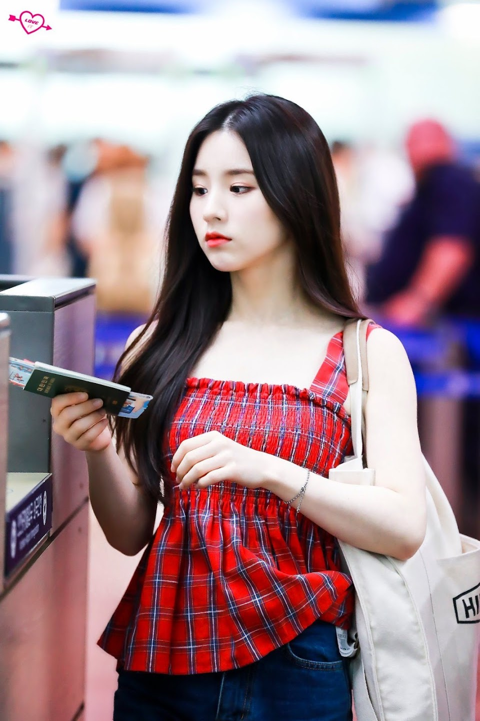 heejin plaid 21