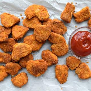 Healthier Baked Chicken Nuggets {Gluten Free}.