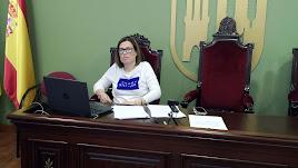 Inmaculada Rodríguez, concejal de Educación de Tabernas.
