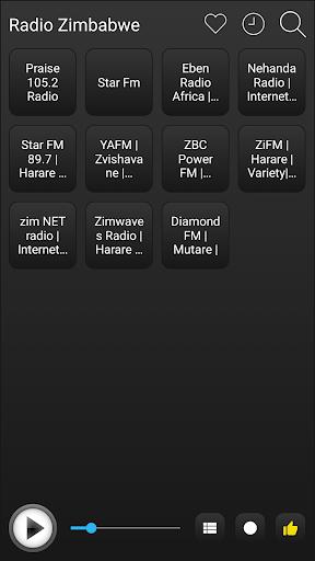 zimbabwe radio stations online - zimbabwe fm am screenshot 2