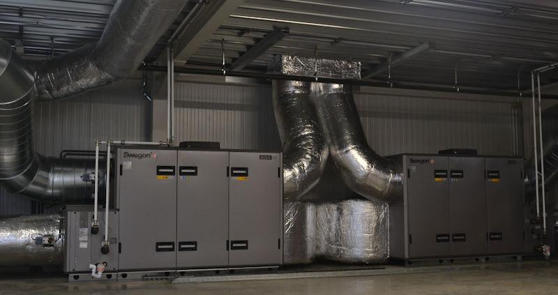 Volvo Garage Diest - Ventilatiesysteem