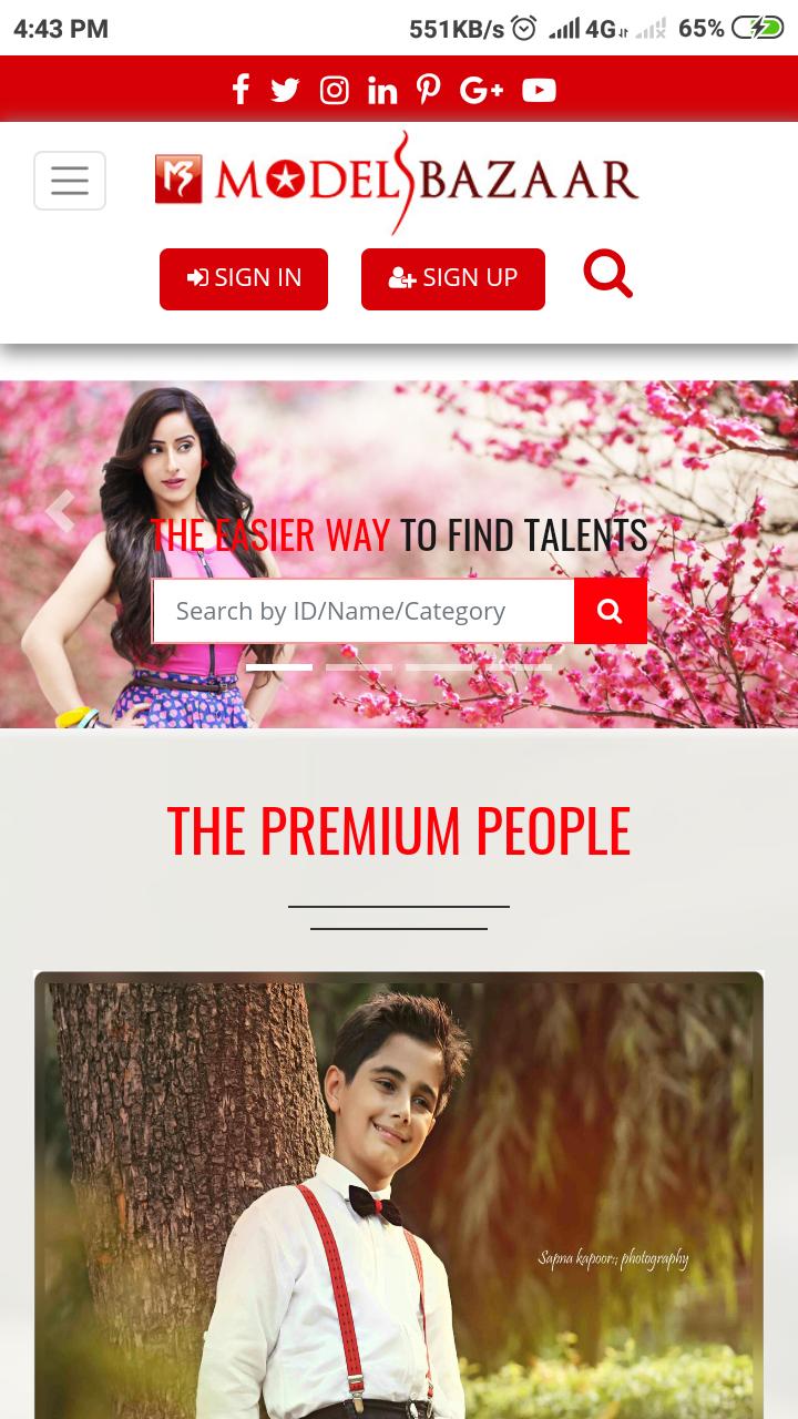 Скриншот Models Bazaar