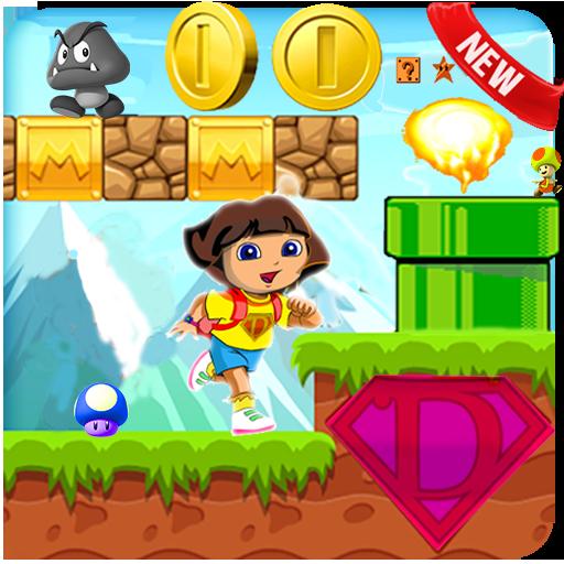 Dora World Jungle run