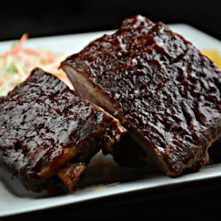 Oven Barbecued Ribs.